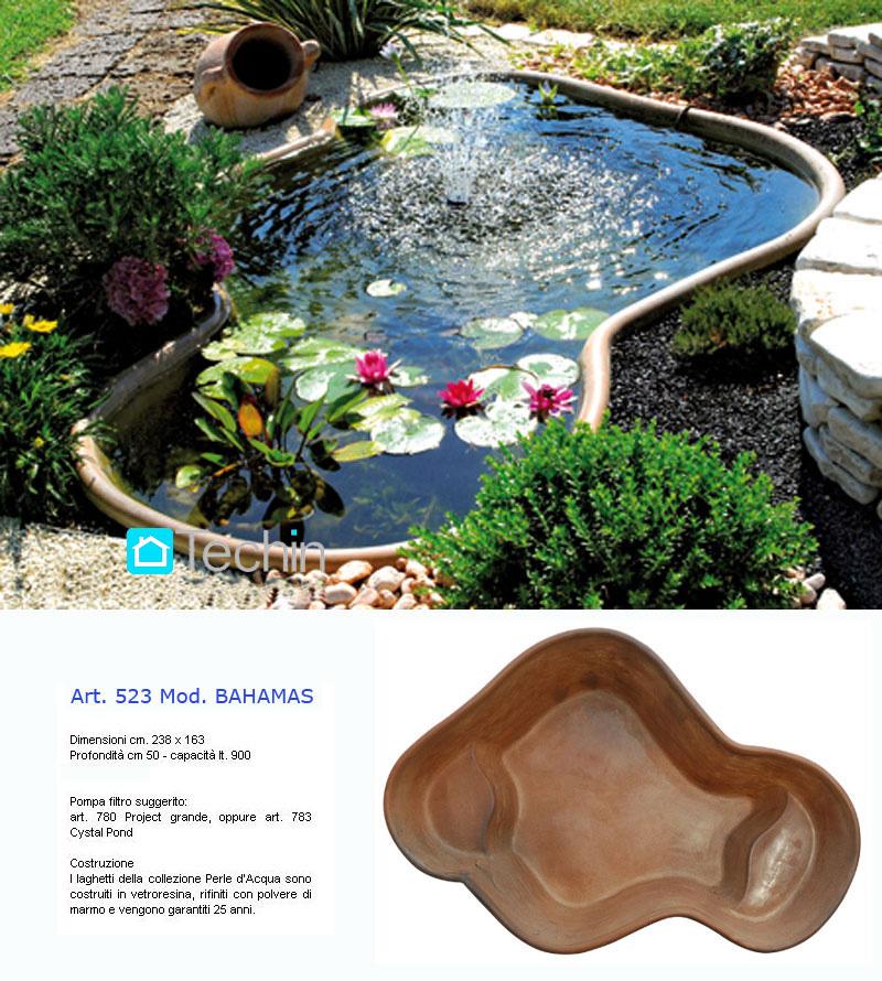 Fontane laghetti cascate laghetti giardino vendita laghetti for Stagno artificiale