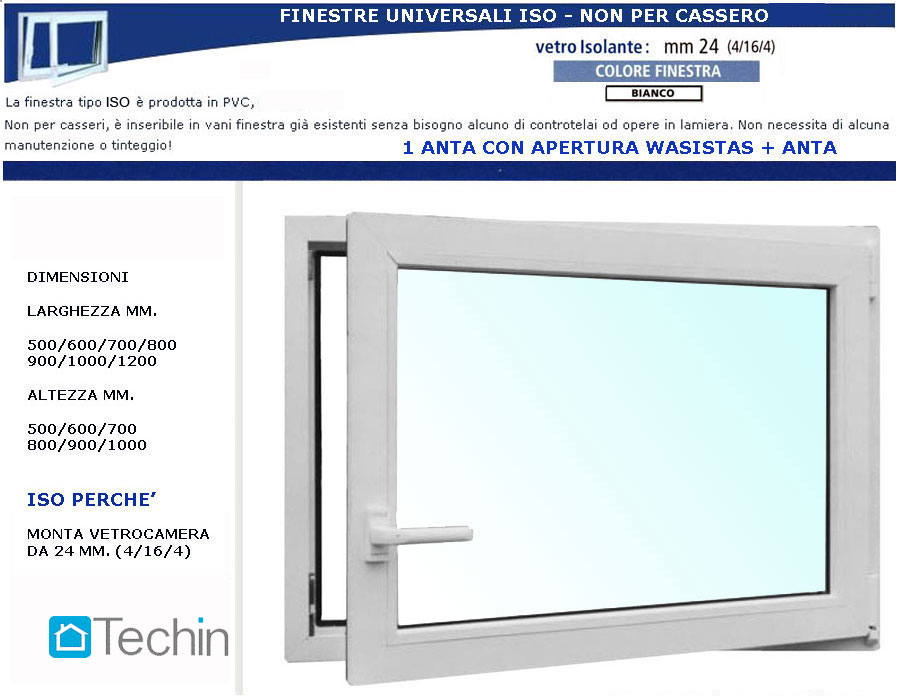 Finestre senza controtelaio finestre universali finestra universale - Controtelaio finestra prezzo ...