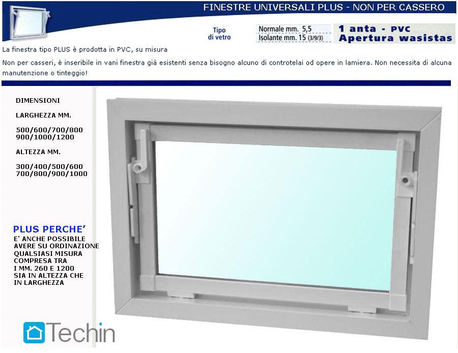 Finestre in pvc finestre cantina finestra in pvc finestra - Controtelaio finestra prezzo ...