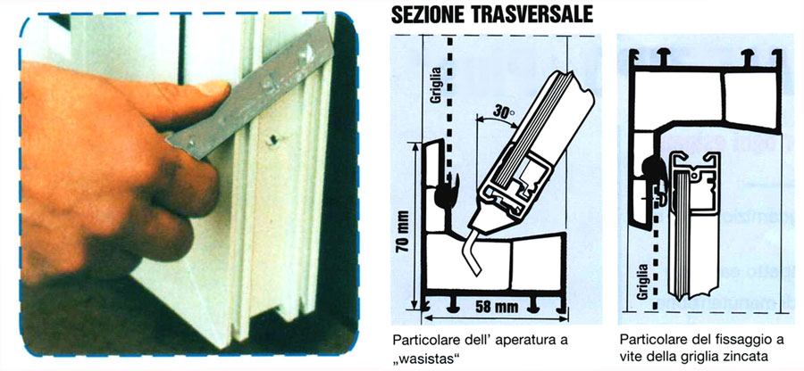 Finestre in pvc finestre cantina finestra in pvc finestra for Costruzione scantinato di scantinati