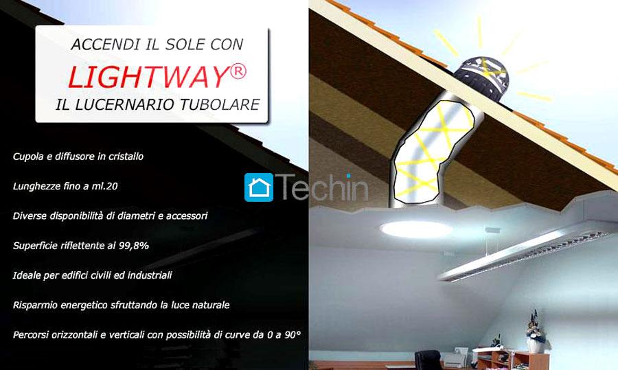 Illuminazione con tubi solari illuminazione locali ciechi e