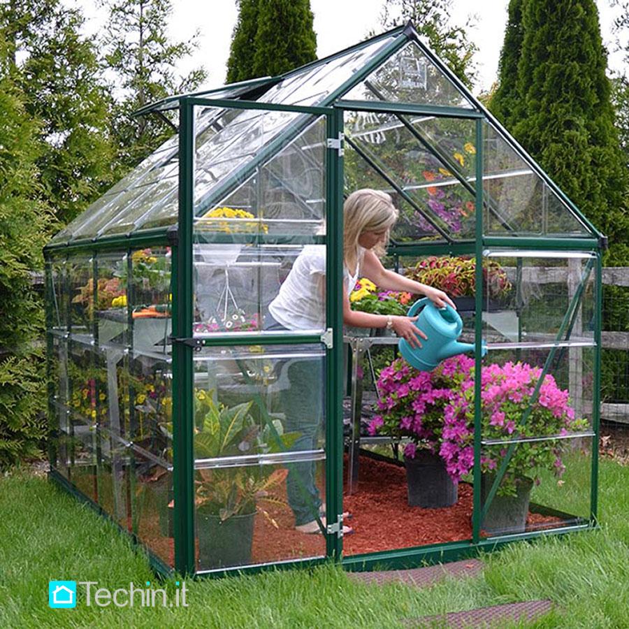 Serre da giardino serra per giardino serre in alluminio - Serre da giardino usate ...