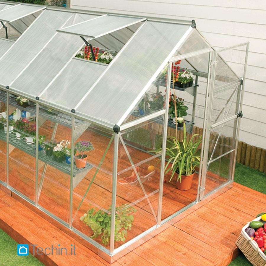 Serre da giardino serra giardino serre policarbonato for Serre da giardino policarbonato