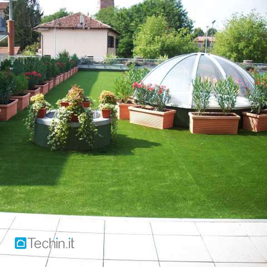 Nuovi prodotti techin edilizia ristrutturazione - Erba finta per giardino ...