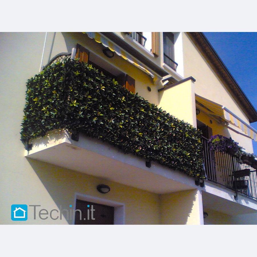 Siepe artificiale balcone