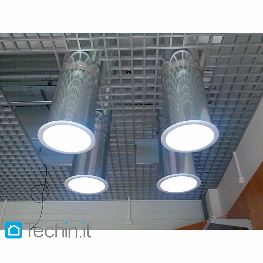 Lightway Tube Solar Silver 600 Industrial Skylight Solar