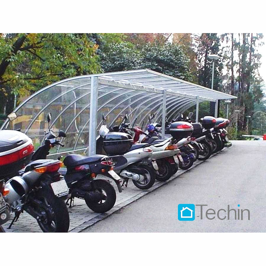 Shelter Bicycle Parking Bike Motorcycle Scooter