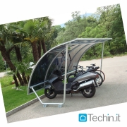 Bike shed Mod TBS plexiglass