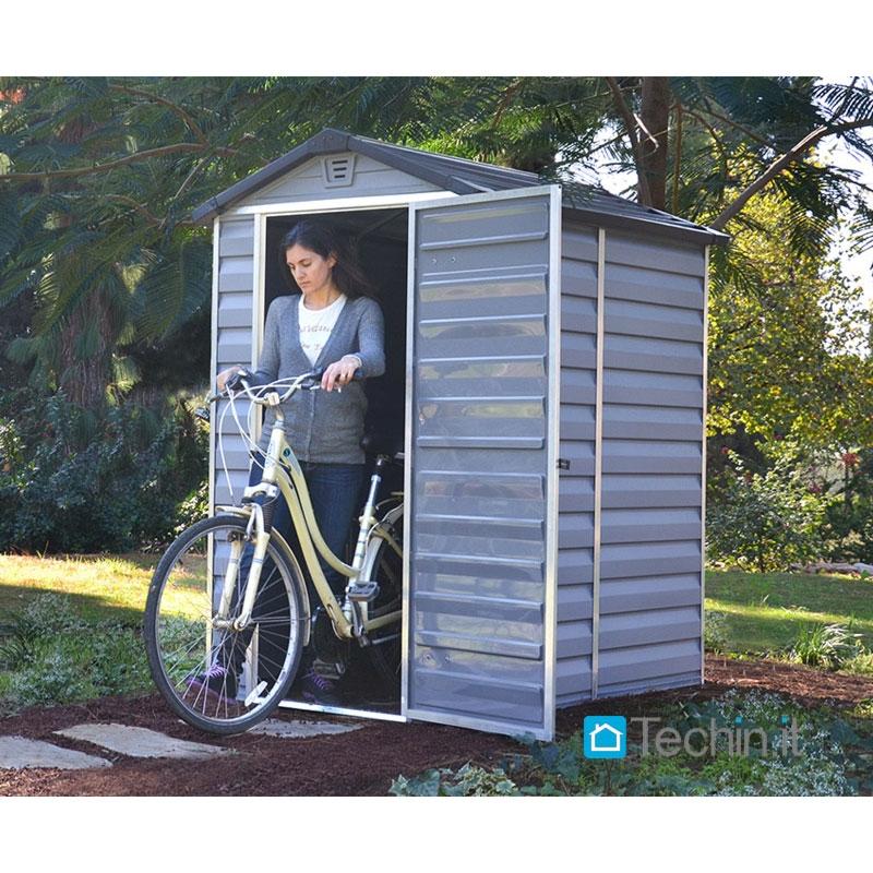 Box da esterno plastica casette giardino casette giardino - Box da giardino ...