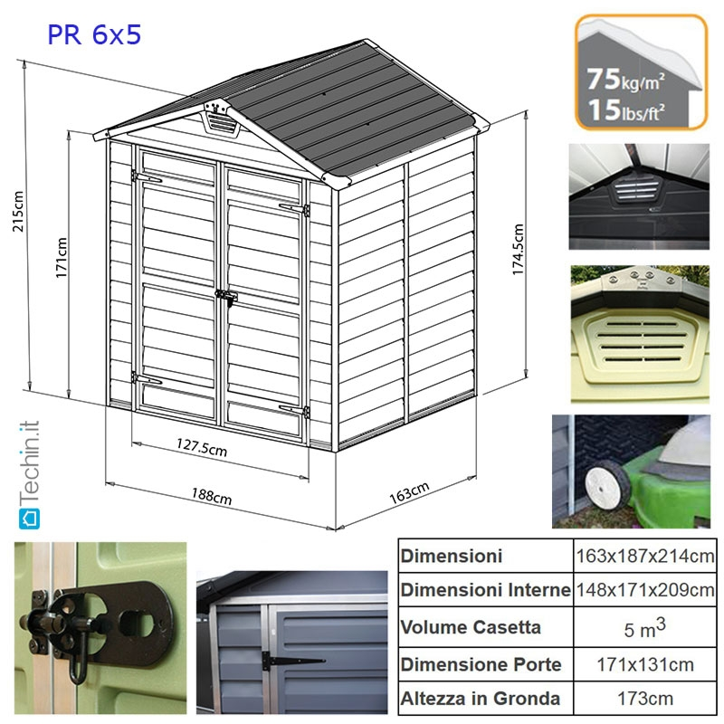 Casette giardino prezzi casette in policarbonato casette for Obi pannelli legno