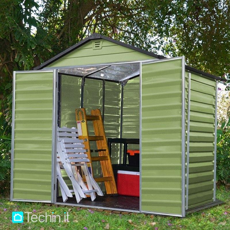 Casette giardino prezzi casette in policarbonato casette - Casette da giardino in pvc ...