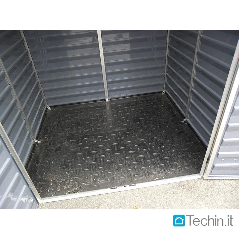 Cassapanca pvc box da esterno plastica vendita casette for Cassapanca da esterno in plastica