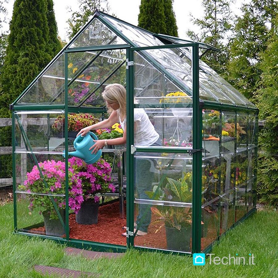 Serre per giardino serra da orto serra in policarbonato - Serre da giardino usate ...
