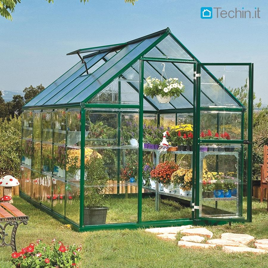 Serre ornamentali serre da giardino serre hobby giardino - Serre da giardino usate ...