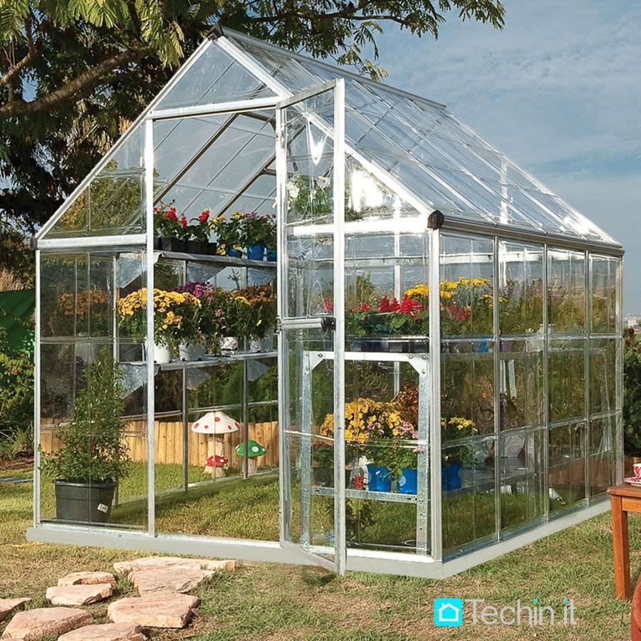 Serra veranda piccole serre da giardino serre per giardino - Serre da giardino usate ...