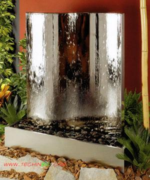 ... Fontane. Fontane in marmoresina per arredamento interno e da giardino