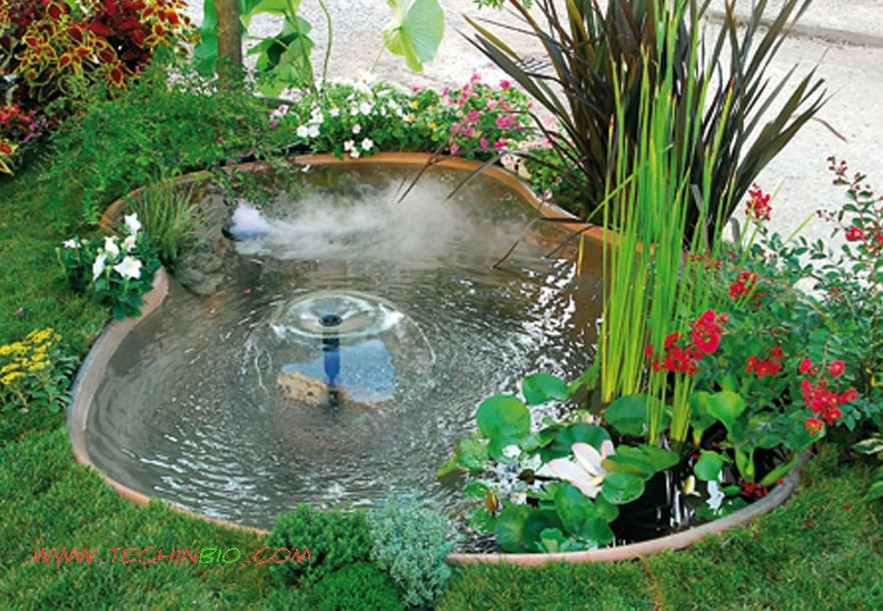 Arredo giardino pergole gazebi carport fontane laghetti for Immagini di laghetti artificiali