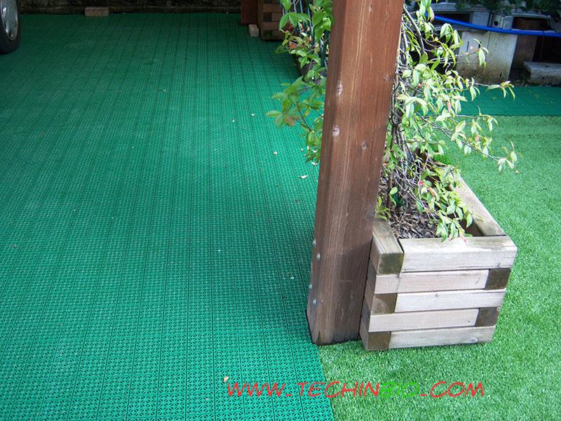 Piastrelle Plastica Da Giardino Prezzi.Pavimento Pavimenti Erba Sintetica Prato Sintetico Moquettes Mattoni