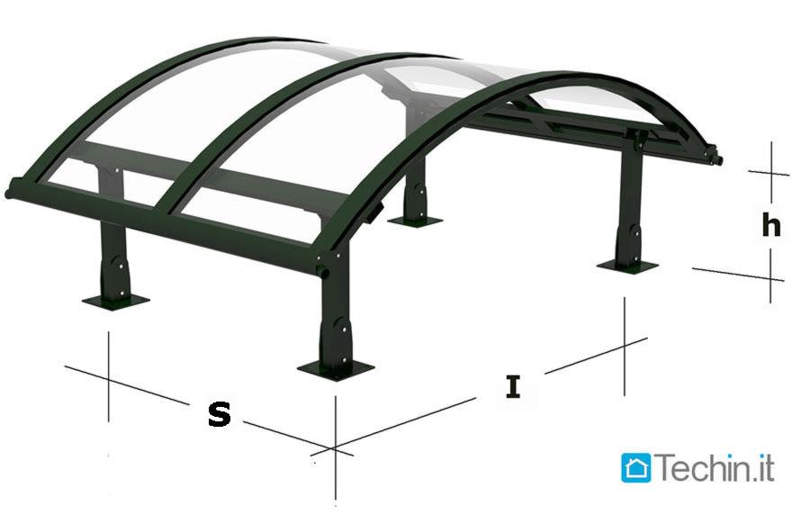 Strutture metalliche ferro cancelli recinzioni pensiline for Strutture metalliche dwg