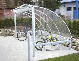 Parcheggio auto carport parcheggi parcheggio bici for Due box auto con posto auto coperto