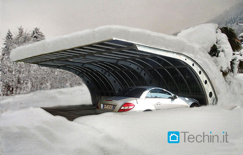 Parcheggio auto carport parcheggi parcheggio bici for Kit per posto auto coperto