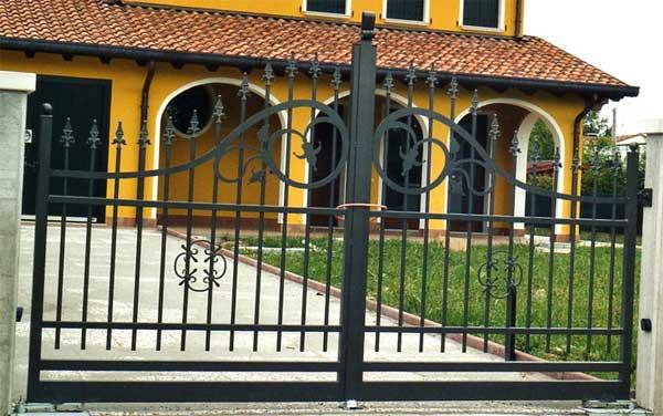 Amato cancelli in ferro,recinzioni,recinzione,cancello,ferro battuto PI15