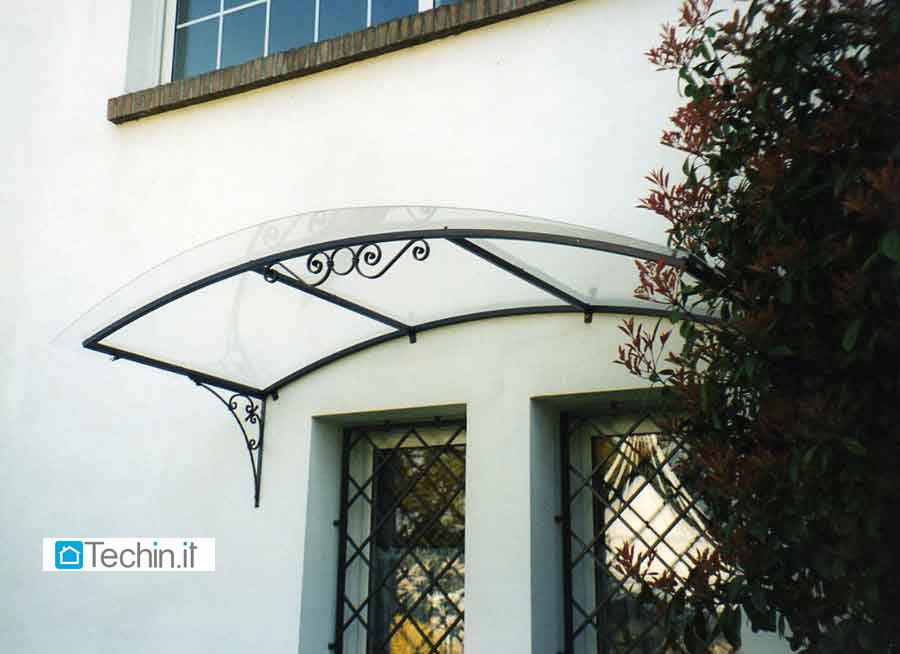 Tettoia in ferro battuto tettoie metalliche tettoia tettoie - Tettoia giardino ...