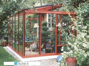Verande serre giardino serra alluminio serre policarbonato for Piani di casa con giardino d inverno