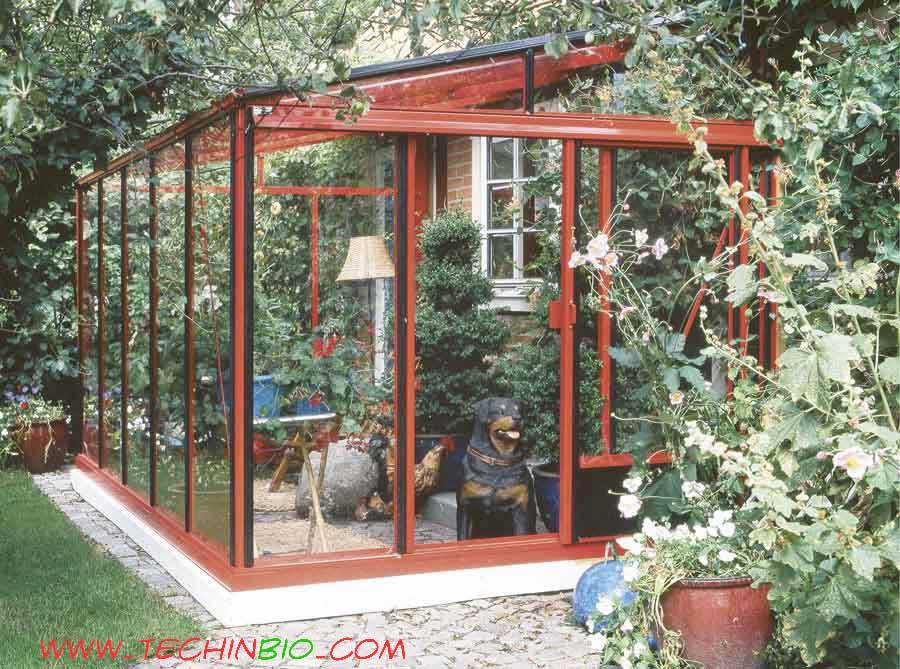 Serre veranda verande serra da giardino - Verande da giardino in legno ...